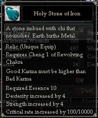 Holy Stone of Iron