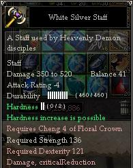 Weapon Hardness