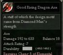 Good Rising Dragon Axe