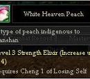 White Heaven Peach