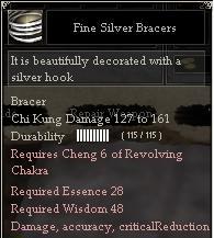 Fine Silver Bracers