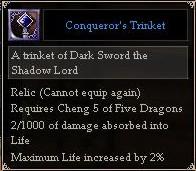 Conqueror's Trinket
