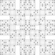 Geeky image for samurai sudoku printable