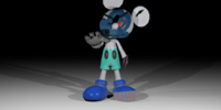 Evil Photo-Negative Mickey