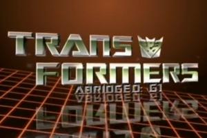 Transformers Abridged - G1 title block