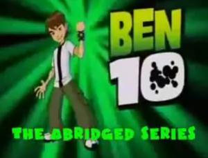 Ben 10 Abridged title block