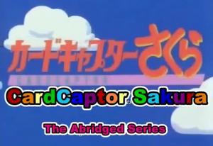 Cardcaptor Sakura Abridged title block