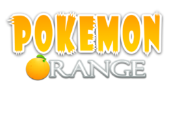 Pokemon orange logo