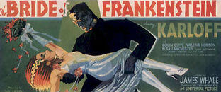 Bride of Frankenstein poster 2
