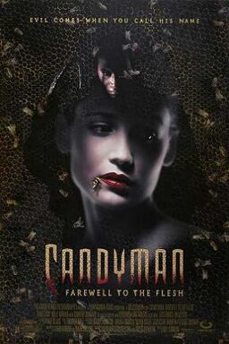 Candyman farewell to the flesh poster