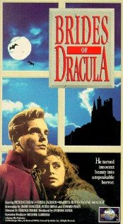 Brides of Dracula vhs cover