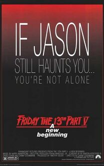 Friday the 13th Part V - A New Beginning poster