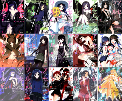 Accel World Light Novels