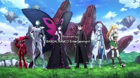 Accel World vs Sword Art Online Millenium Twilight - Opening Intro PS4 Vita