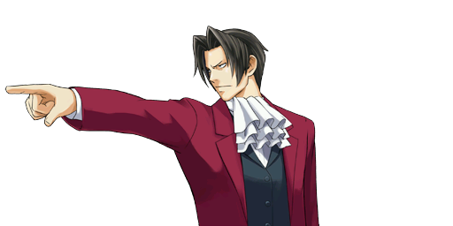 File:PXZ2 Miles Edgeworth (zoom) - objecting.png