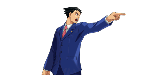 File:PXZ2 Phoenix Wright (full) - objecting (right).png