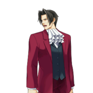 PXZ2 Miles Edgeworth (full) - determined 2