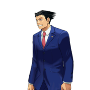 PXZ2 Phoenix Wright (full) - exasperated (left)