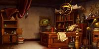 Alchemist's study
