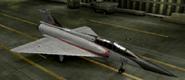 Mirage 2000D Special color hangar