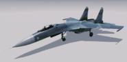 Su-27 Flanker B Hangar