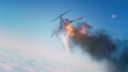 AC7 F-104 Shot Down