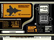 XFA-36A Ouroboros Weapon Selection