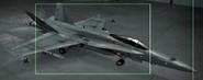 F A -18C OMDF color Hangar