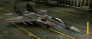 MiG-29A Mercenary color hangar