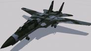 F-14A Normal Skin 01 (GY) Hangar
