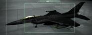 F-16C Razgriz color Hangar