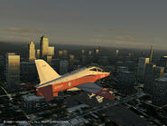 Hawk over November City