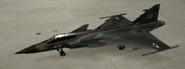 Gripen C Soldier hangar color