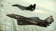 YF-23 Assault Horizon Color 3 Flyby 5