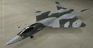 YF-23A Knight color hangar