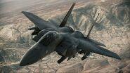 F-15E Strike Eagle AH Flyby