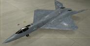 YF-23A Standard color hangar