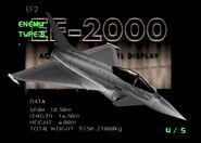EF-2000 color Enemy Type B (AC2)