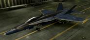 F A-18C Mercenary color hangar