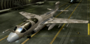 EA-6B Special color hangar