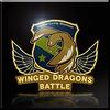 Winged Dragons Battle Emblem Icon