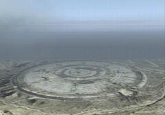 Stonehenge as seen in Ace Combat 04