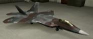 F-22A Knight color hangar