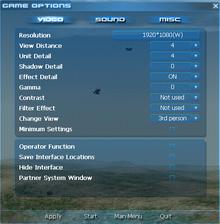 GameOptions