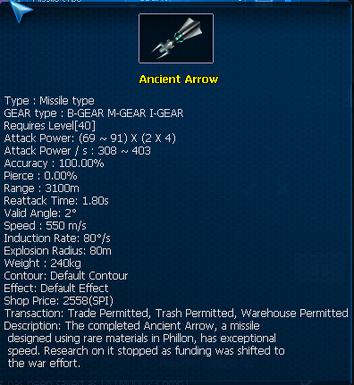 Ancient Arrow