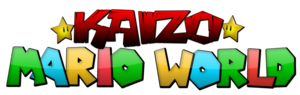 Kaizo mario world logo by jonyxmass-d5jytmw