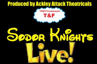 Sodor Knights LIVE! Logo