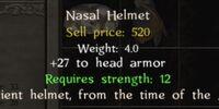 Nasal Helm (Andal)