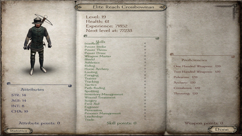 Elite Reach Crossbowman