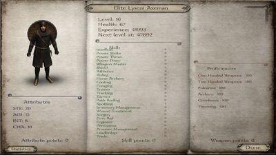 Mt4 elite axeman
